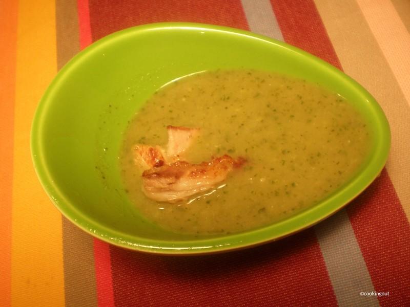 Soupe de Sorcière #1 la Douce amère, une soupe de pissenlit et courgettes