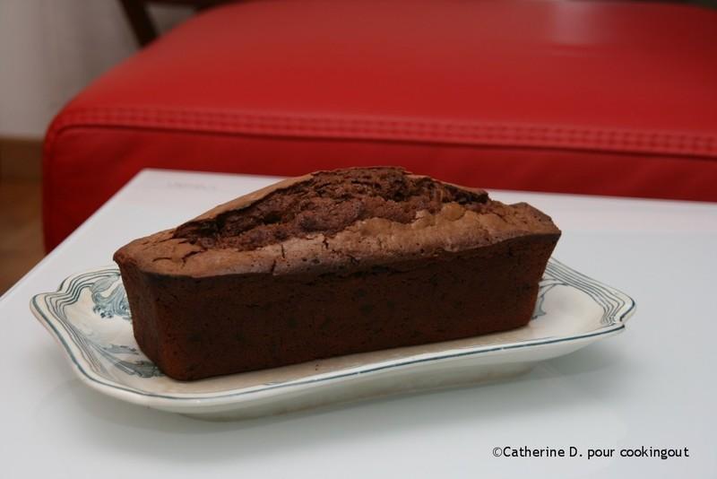 Le gâteau chocolat courgette