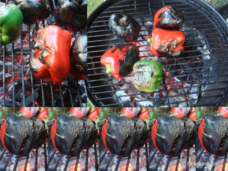 Poivrons grillés parfaitement