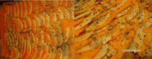 Tian de citrouille et pomme de terre