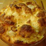 Soufflé au chou-fleur et coquilles St Jacques