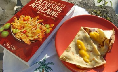 recette de crêpes à l'Africaine provenant d'un livre de cuisine africaine