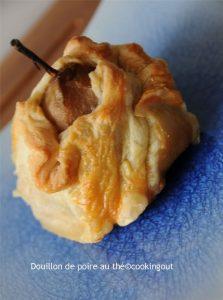 Douillon de poire au thé, une recette à base de pâte feuilletée