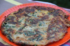 Tortilla au vert d'oignon pour une cuisine savoureuse et zéro déchet