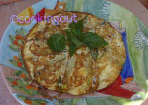 les fleurs de courgettes qui parfument une omelette