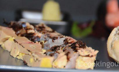 Foie gras aux algues Nori et haddock croisement de sushi et foie gras