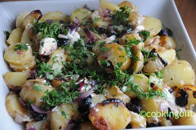 Pommes de terre à la Grecque from Delicious