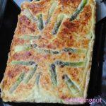 La tarte aux asperges blanches recette de Pascale Wicks