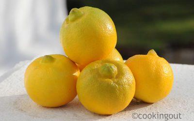 effeuillage de citron Bergamote