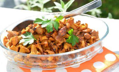 Petites girolles aux épices bien relevées pour changer du persil et de l'ail