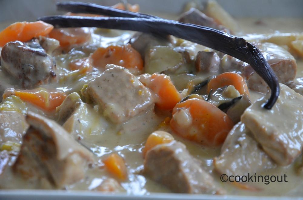 Blanquette de veau à la vanille, l'or noir, ma recette pleine de bon sens