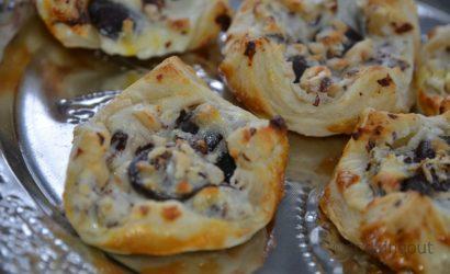 Recette de Danish pastry petit suisse et chocolat noisette.