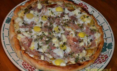 Recette de Quiche aux poireaux et œufs de caille pour séduire