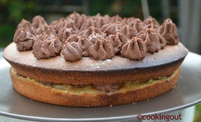 Gâteau poires chocolat pour concilier les goûts de toute la famille