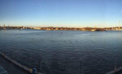Stockholm Södermaln à Noël