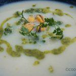 soupe-de-chou-fleur-aux-moules-pesto-de-cerfeuil