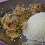 Recette de boulettes à l'indienne épicées et parfumée à la noix de coco