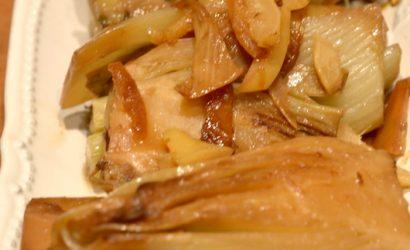 fenouils confits au citron un bel accompagnement des BBQ