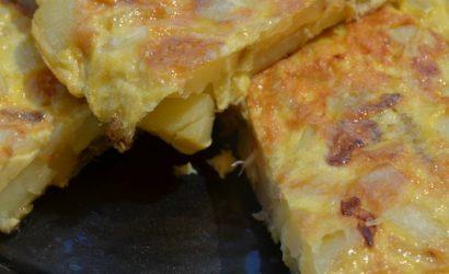 La tortilla de Patatas, l'omelette aux pommes de terre espagnole