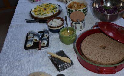 Le buffet de fêtes suédois : Le Smörgåsbord