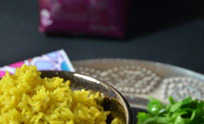 Riz Basmati recette indienne épicée revisitée à ma façon