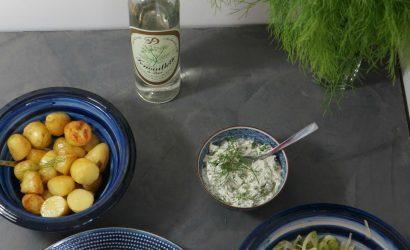 Recette de Lotte, fenouil et fenouillette un repas aux saveurs anisées