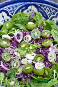 Salade vitaminée aux Nergi