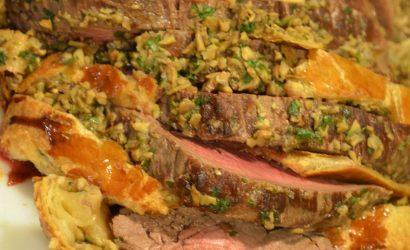 Un rôti de bœuf Wellington, une bonne idée de plat pour Noël