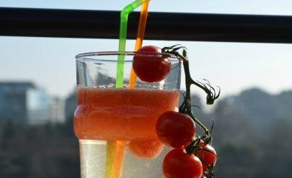 Le cocktail du Voyageur Las pour faire honneur à la tomate