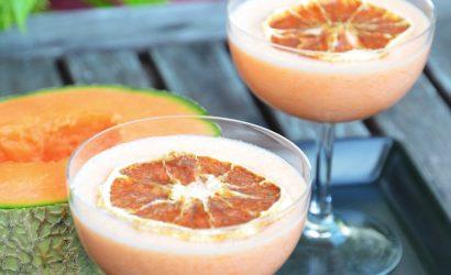 Cocktail Daïquiri à base de jus de Melon frais et de rhum