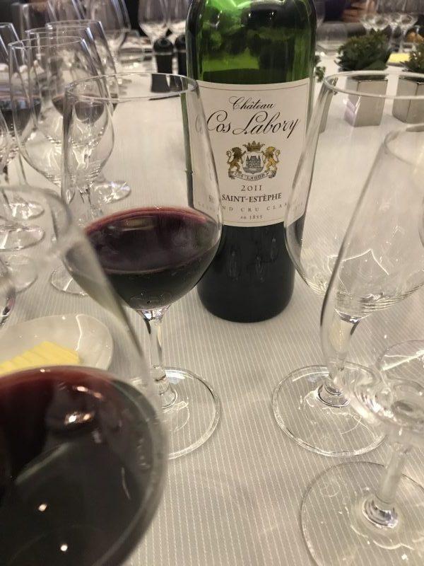 Dégustation de vins Cos Labory