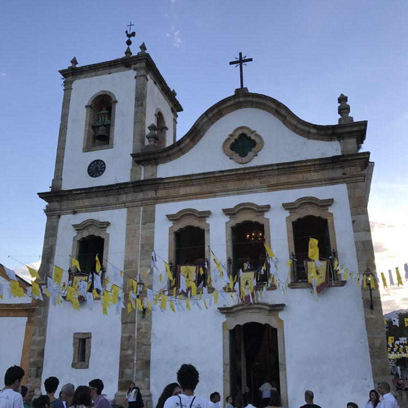 Eglise de Santa Clara à Paraty