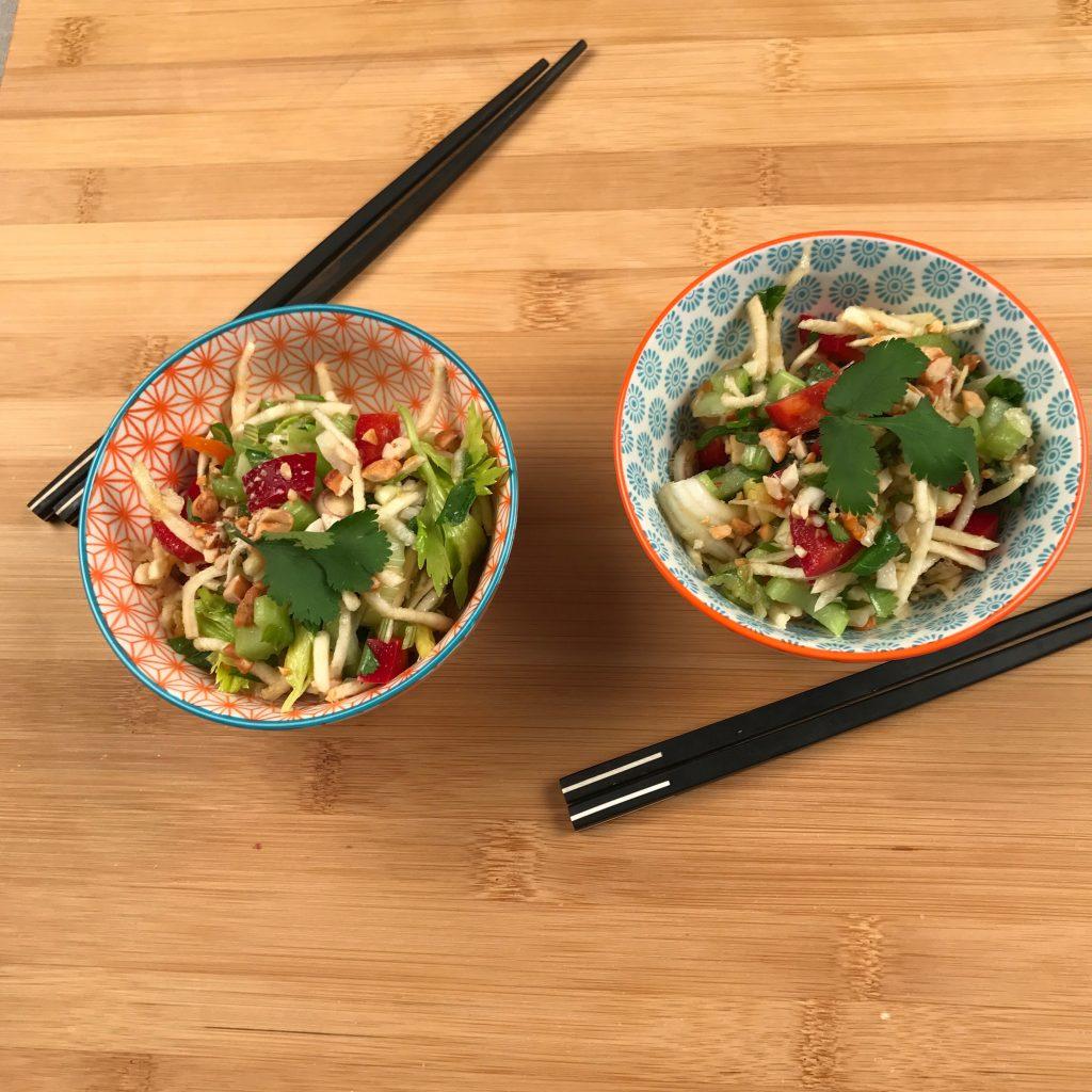 Salade thai aux céleris