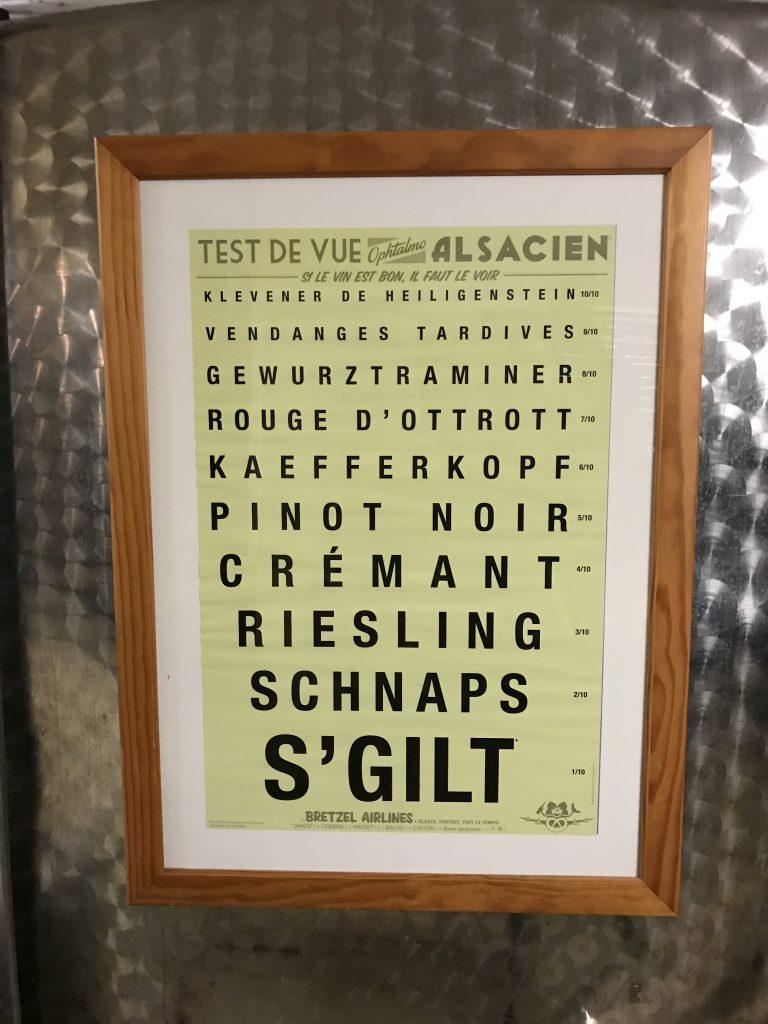 Vins d'Alsace vocabulaire