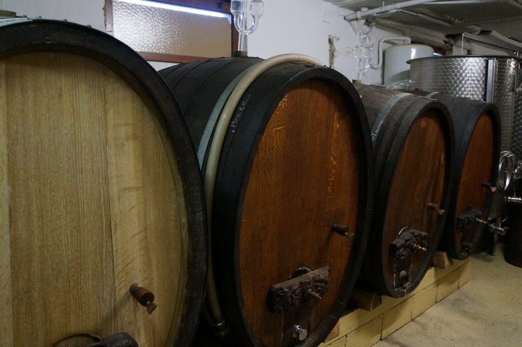 Vins d'Alsace tonneaux traditionnels