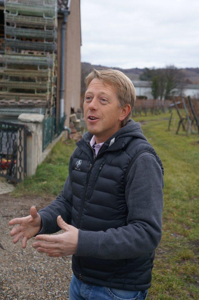 Vins d'Alsace viticulteur Etienne Simonis