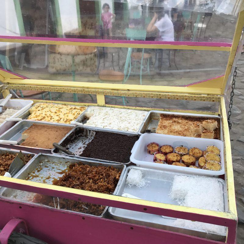 Gourmandises à déguster dans la rue de Paraty