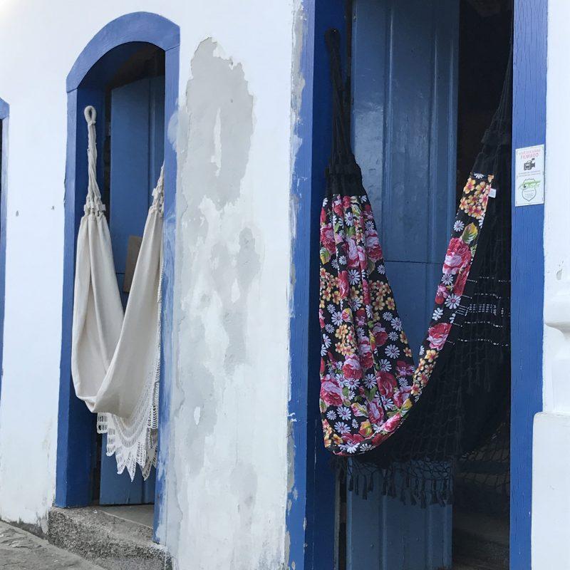 Hamacs artisanaux à Paraty