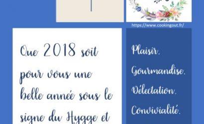 Vœux 2018 cookingout