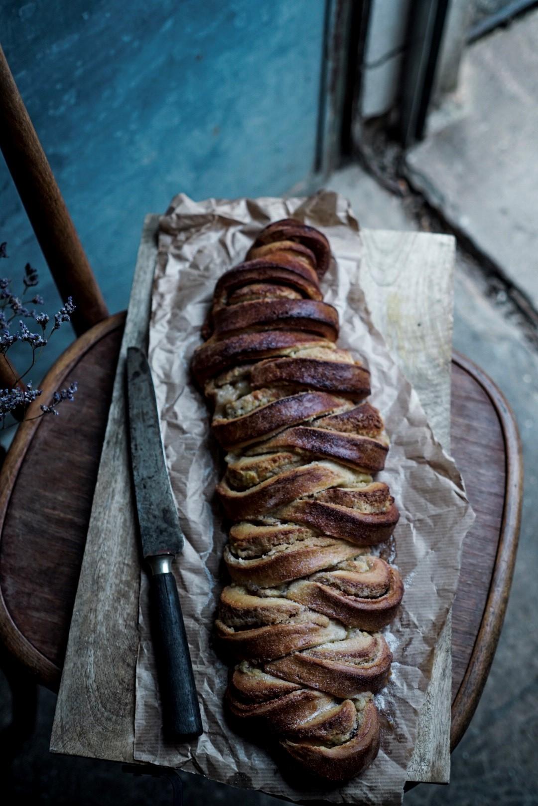 brioche danoise à la cannelle, photo Virginie Robichon - http://littlebouillon.com