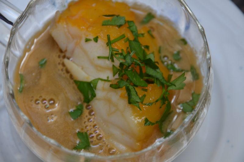 soupe de pois cassé au haddock