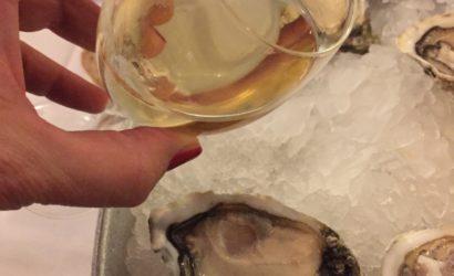 les huitres au champagne Joseph Perrier la Cuvée royale Blanc de Noirs