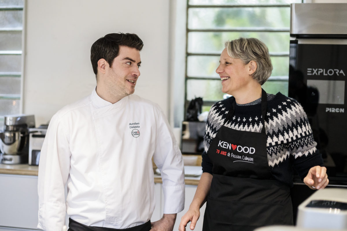 Atelier Kenwood Cooking Birgit et Aurélien