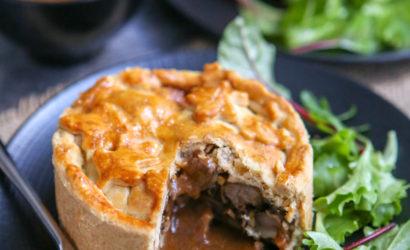 steak and kidney pie prête à la dégustation