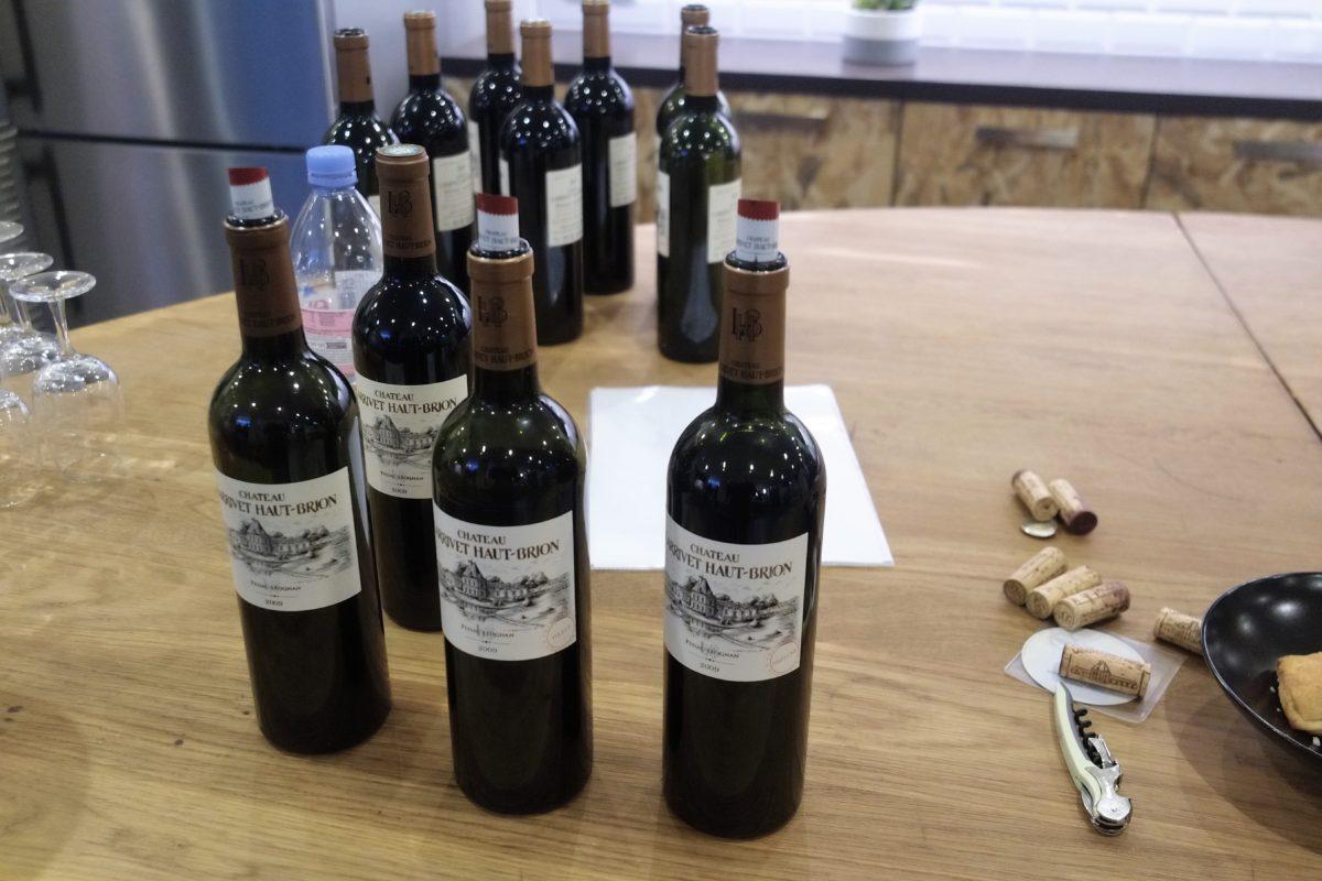Les 3 bouteilles de vin de 2009 de Chateau Haut Brion à déguster