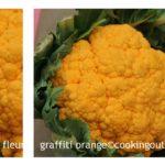 chou-fleur graffiti orange