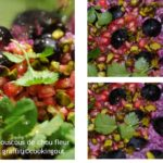 Recette de couscous avec du chou fleur-graffiti violet
