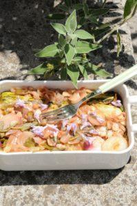 courgettes marinées à la sauge recette italienne à déguster en antipasti