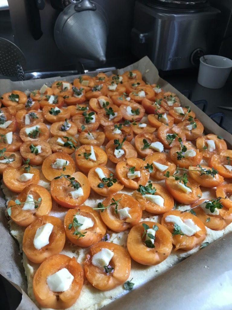 recette de gâteau breton aux abricots parfumé au thym