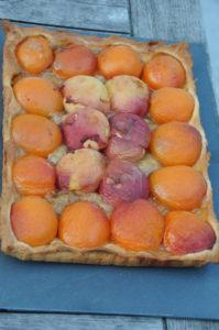 La tarte levée aux abricots et au sirop d'Erable